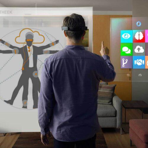 Be Your Own Robot in Tetem geeft een inkijk in de toekomst van Augmented Reality en apps