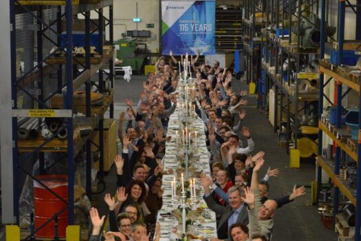 Pentair viert 115-jaar pomp productie in Winterswijk