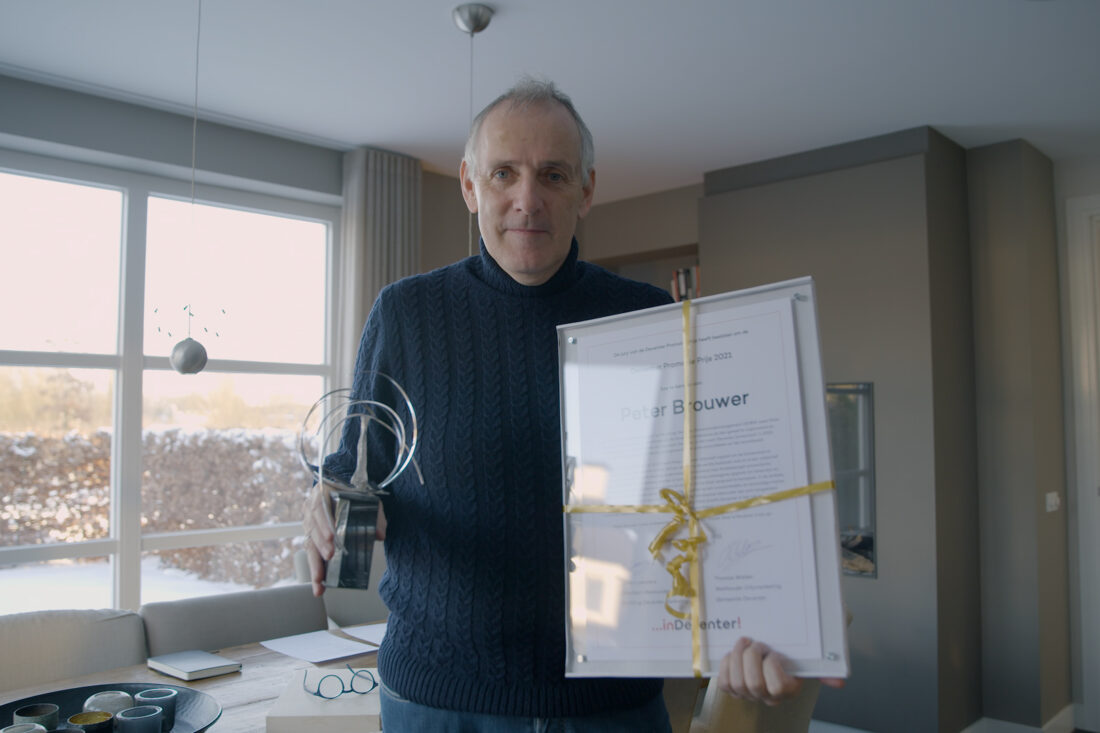 Peter Brouwer wint Promotieprijs 2021