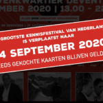 Het Grootste Kennisfestival verplaatst naar 24 september 2020