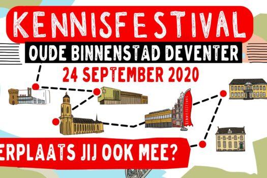 Het Grootste Kennisfestival op 24 september in Deventer gaat door