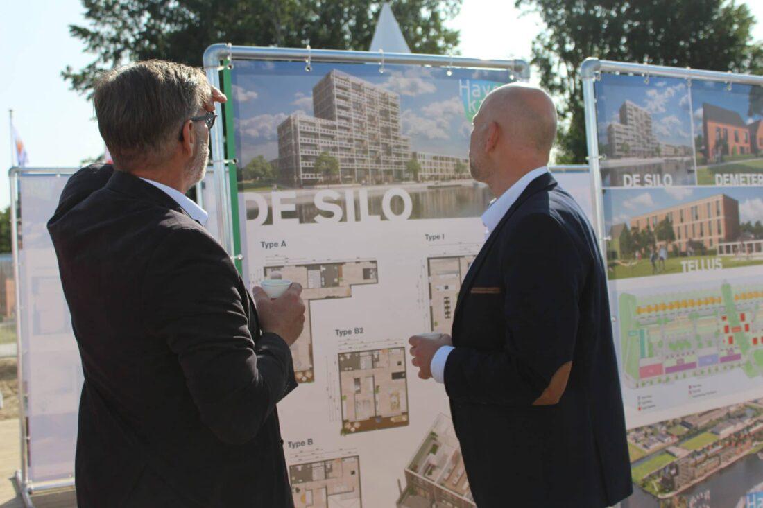 Veel belangstelling voor 56 duurzame woningen in Havenkade Dronten