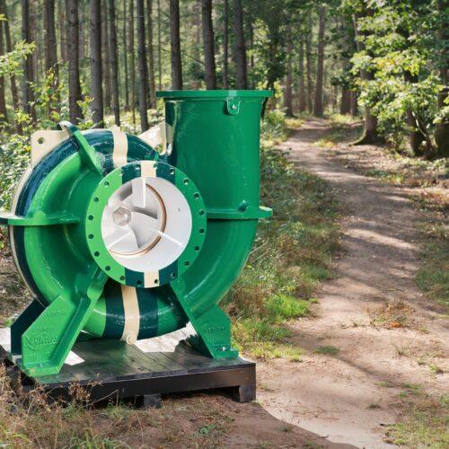 Achterhoek pomp symbool voor werken bij innovatief maakbedrijf