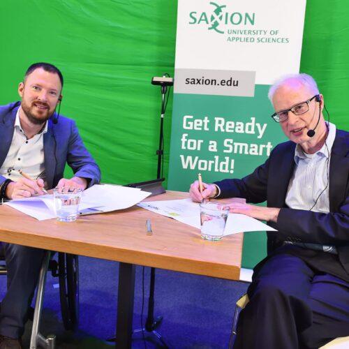 8RHK ambassadeurs en hogeschool Saxion