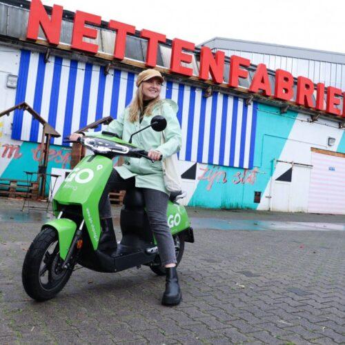 GO Sharing introduceert elektrische deelscooters in Apeldoorn