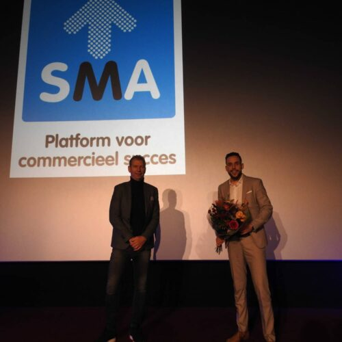 Glenn Timmer wint verkiezing Young Sales Professional van regio Oost-Nederland