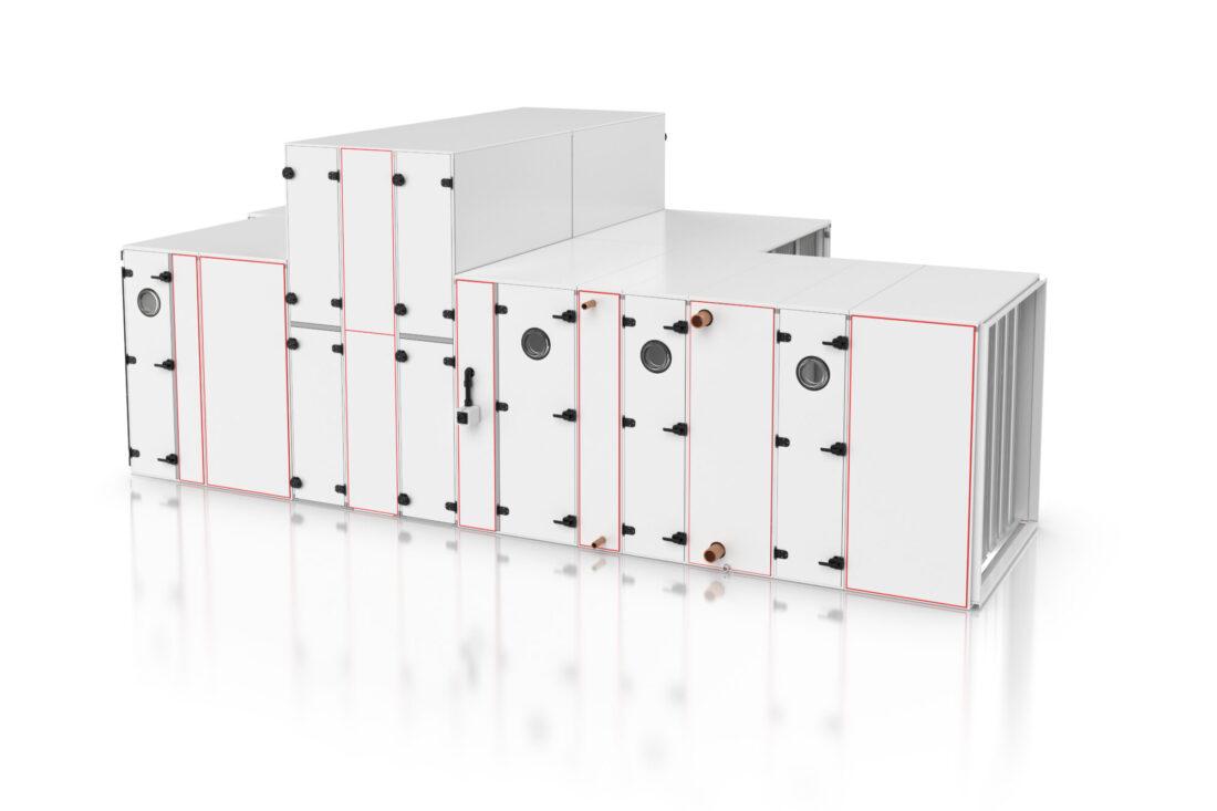 WOLF KG TOP: nieuwe generatie modulaire luchtbehandelingskasten