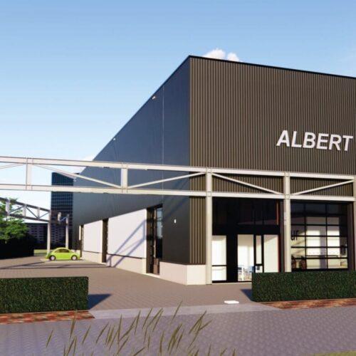 Bouw nieuwe opslaglocatie Albert van de Scheur gestart