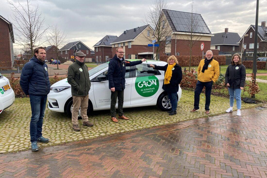 Elektrische deelauto's voor inwoners Achterhoek op de weg