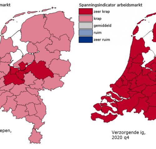 Daling WW-uitkeringen in Overijssel en Gelderland Noord