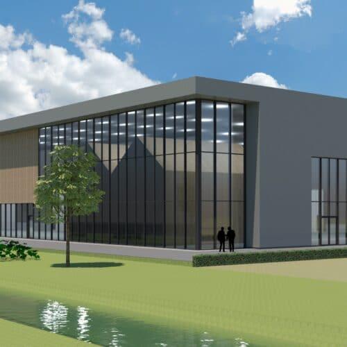 Nieuwe fabriek voor circulaire houten woningen