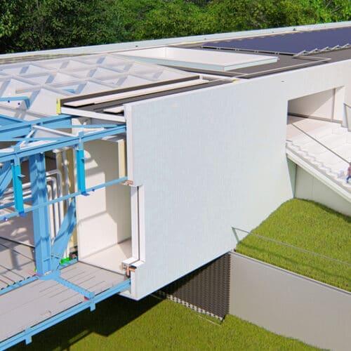 Het personeel op de bouwplaats moet fluitend haar werk kunnen doen. Dat is min of meer het doel van Vibes Building Engineers uit Deventer met haar 3D engineering van nieuwbouw- en renovatieprojecten in de woning- en utiliteitsbouw. Bij de nieuwbouw van het Museum Arnhem is dat gelukt; het bouwproces loopt daar heel soepel dankzij een uitgekiende werkvoorbereiding.