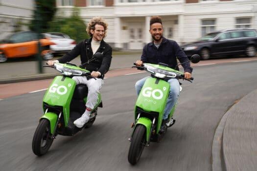 Elektrische deelscooters GO Sharing nu ook in Zwolle