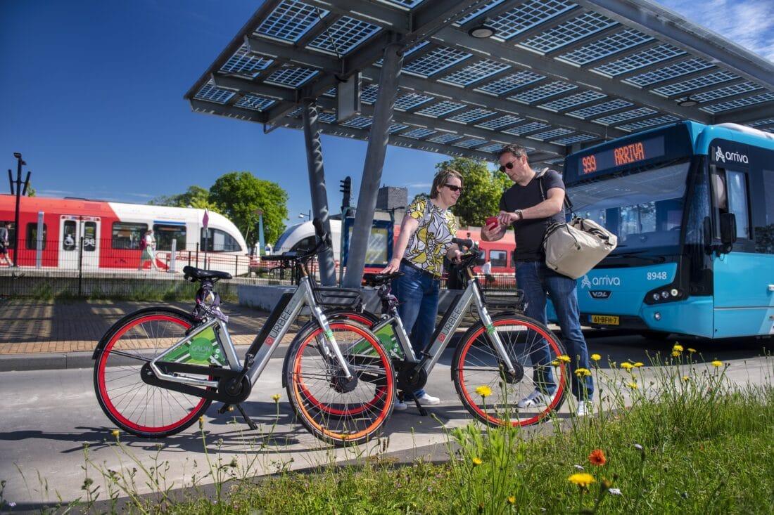 Gaon: de Achterhoek vervoert je met trein, bus en e-bike