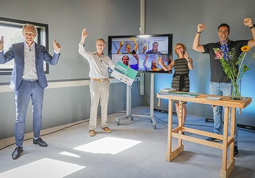 Biobased circulaire geluidswal wint Cleantech Battle 2021