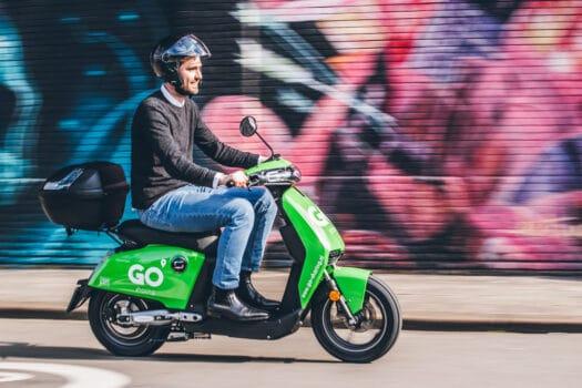 GO Sharing introduceert elektrische 45km/u deelscooters in Enschede