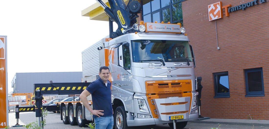 Transport & Lifting Twente biedt totale logistieke ondersteuning