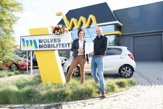 Wolves Mobiliteit ontvangt Duurzaam op de Weg-certificaat van Profile