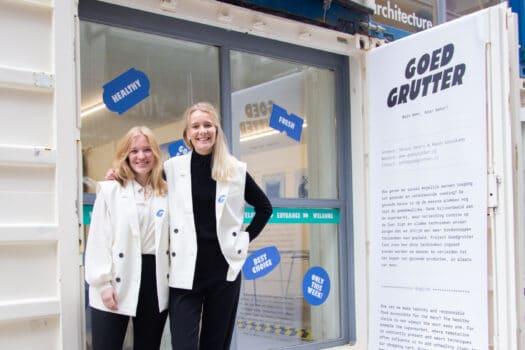 Ontwerpersduo uit Twente presenteert gezonde supermarkt op de Dutch Design Week