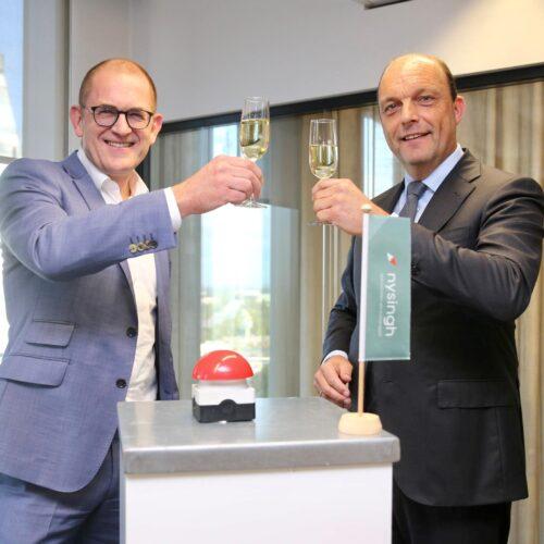Burgemeester Peter Snijders opent nieuw kantoor Nysingh advocaten en notarissen Zwolle